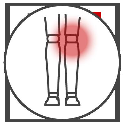 Leistungsspektrum Knieschmerzen Icon