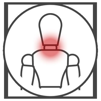Leistungsspektrum Nackenschmerzen Icon