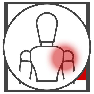 Schulterschmerzen Icon